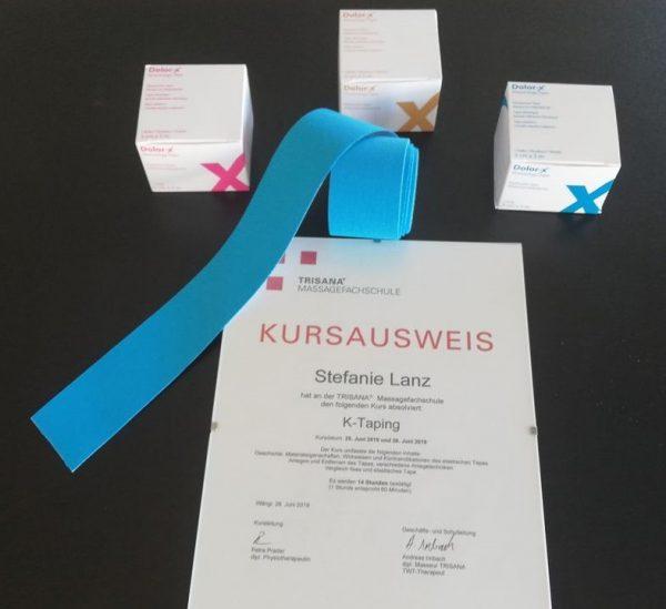 K-Taping Stefanie Lanz, Balanze